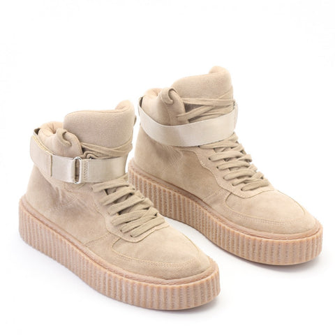 The Suede Hi Top Creepers Khaki