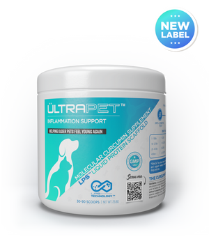 UltraCanine™ -  Is Now UltraPet™ - Curcumin for Dogs and Cats!
