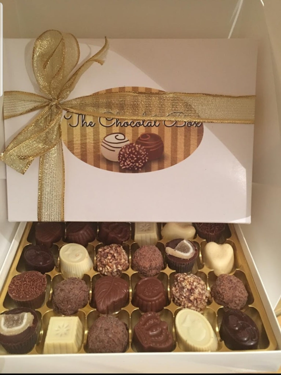 Gluten Free Belgian Chocolate Gift Box for any occasion. www.thechocolatbox.co.uk