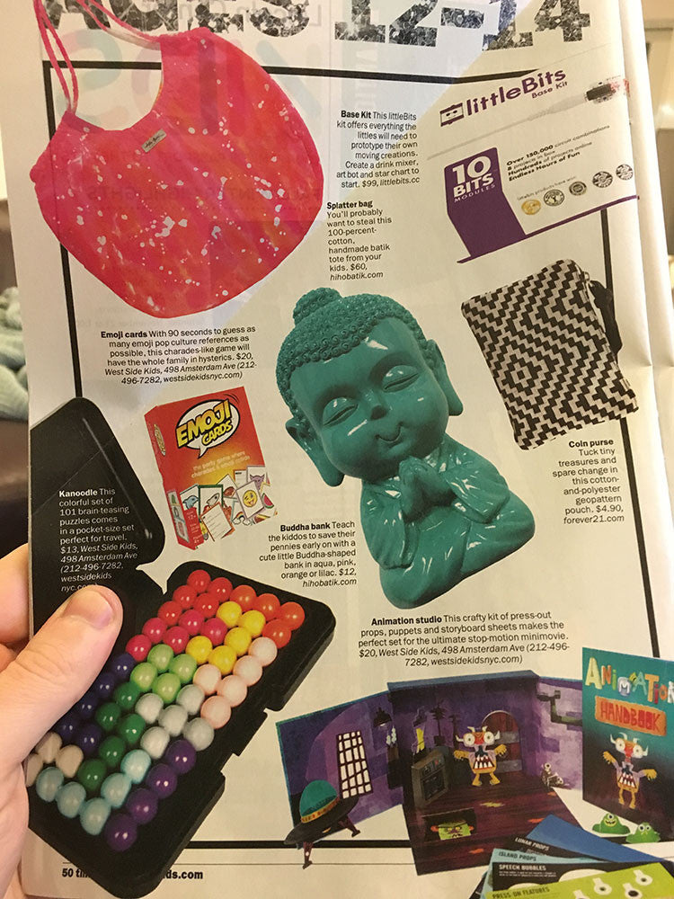 Emoji Cards is featured in the Time Out New York holiday gift guide!