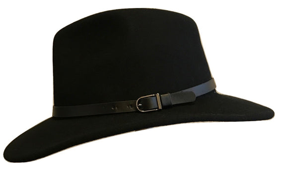Australian Wool foldable Fedora hat