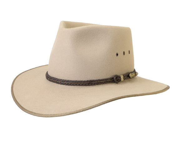 Akubra 'Cattleman' Outback in Sand