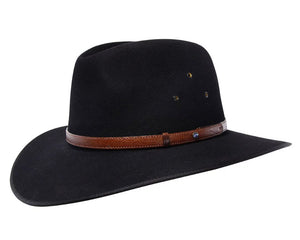 Akubra 'Coober Pedy' in Black