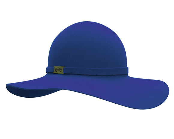 Akubra 'Milan' Ladies Hat in Electric Blue