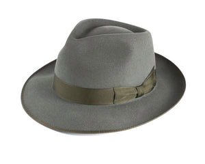 Akubra 'Stylemaster' Fedora in Bluegrass Green