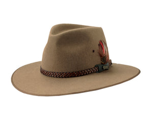 Akubra 'Tablelands' in Sorrel Tan
