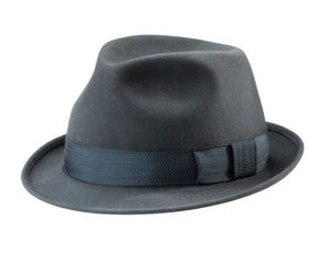 Akubra Trilby in Carbon Grey