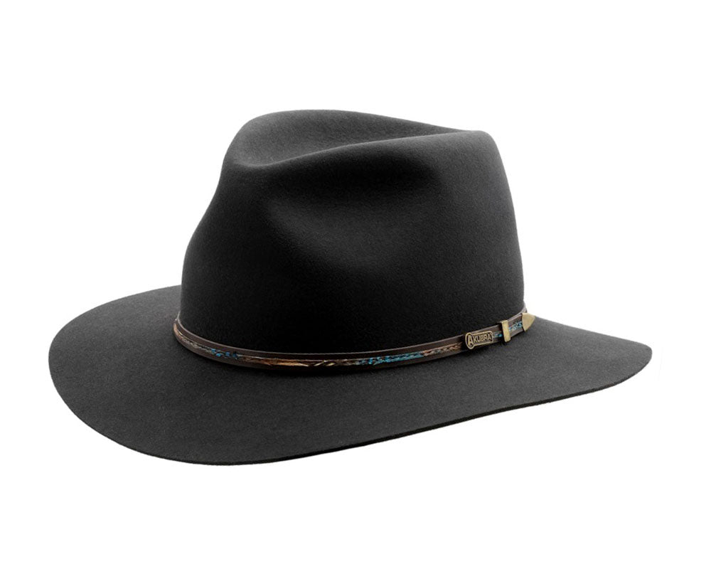 f7ca0d55d Akubra 'Leisure Time' in Graphite