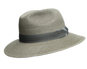 Avenel Olive Green Large Brim Safari with Arrow Band