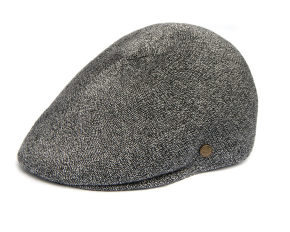 Avenel 'Tropical' Ivy Flat Cap in Grey