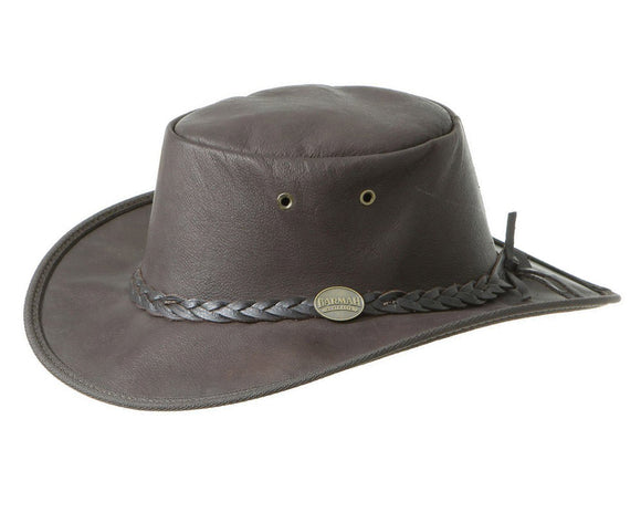 Barmah 'Sundowner' in Brown Roo Leather