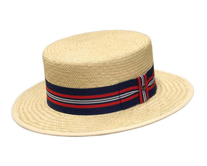 Hills Hats Straw Boater Hat