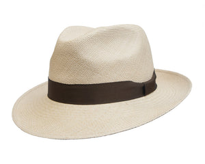 Camilo Grade 3 Sandy Coloured New Fedora Panama