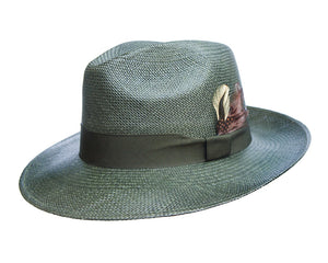 Camilo Grade 3 Olive Coloured Panama Hat