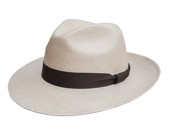 Camilo Grade 3 Sandy Coloured Panama Hat