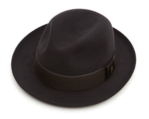 Christys 'Filkins' Fur Felt Trilby in Bessemer Grey