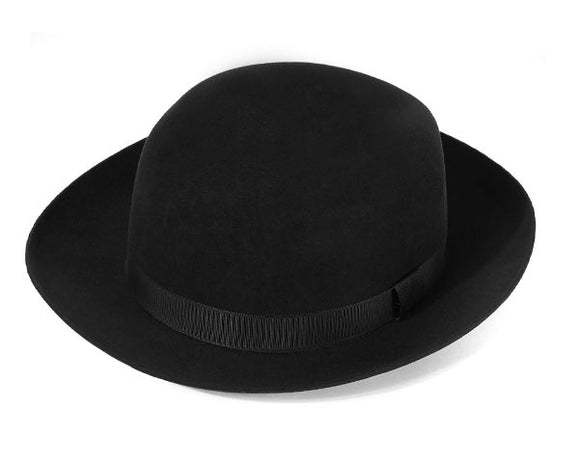 Christys 'Foldaway' Fur Felt Trilby in Black