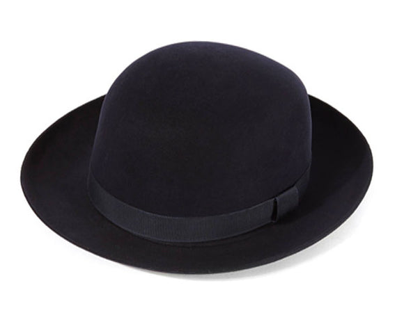 Christys 'Foldaway' Fur Felt Trilby in Navy