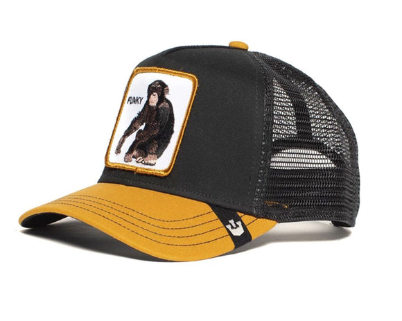 Goorin 'Banana Shake' Trucker Style Baseball Cap in Black