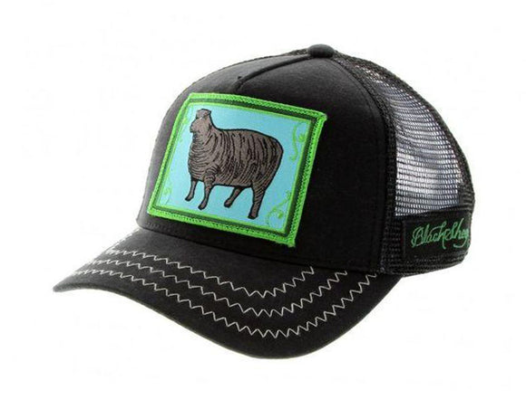 Goorin 'Black Sheep' Trucker Style Baseball Cap in Black