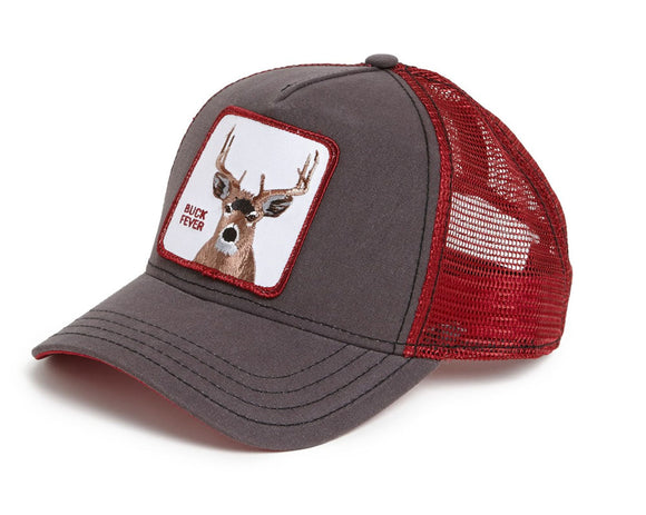 Goorin 'Buck Fever' Trucker Style Baseball Cap in Brown