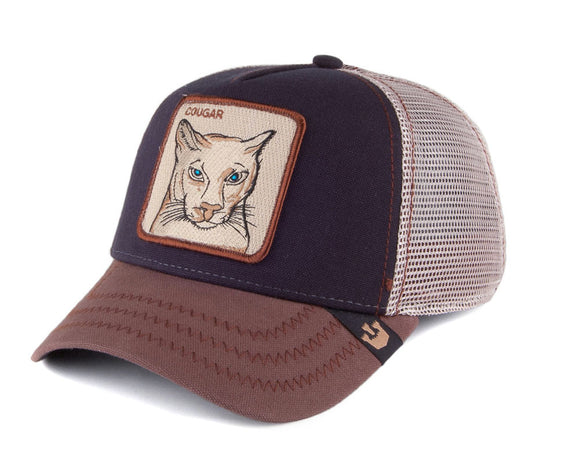 Goorin 'Cougar' Trucker Style Baseball Cap in Navy