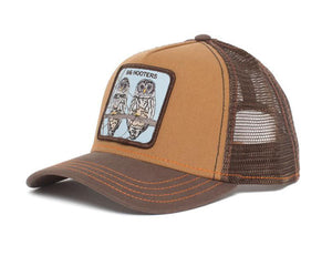 Goorin 'Hooters' Trucker Style Baseball Cap in Brown