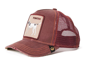 Goorin 'Pointer' Distressed Trucker Style Baseball Cap