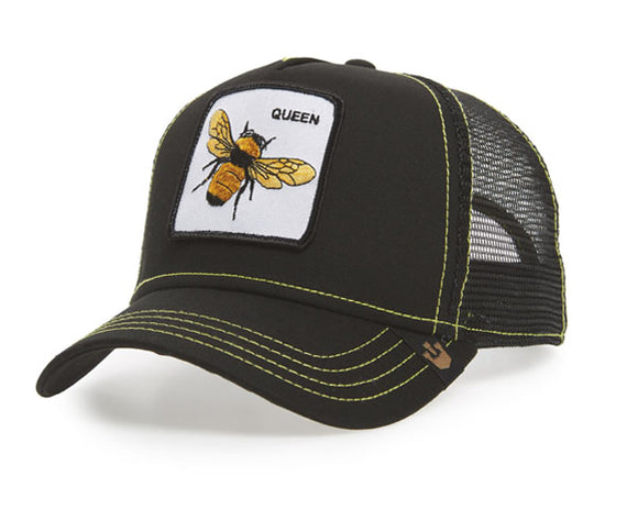 Goorin 'Queen Bee' Trucker Style Baseball Cap in Black