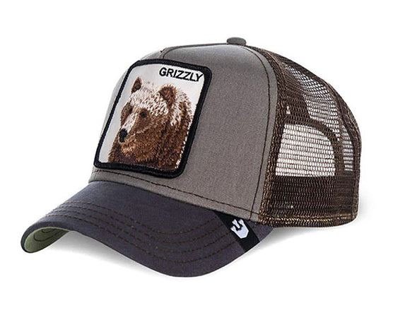 Goorin 'Grizzly' Trucker Style Baseball Cap in Olive