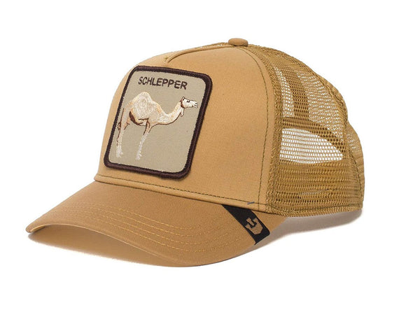 Goorin 'Hump Day' Trucker Style Baseball Cap in Brown