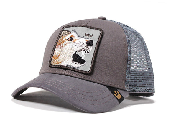Goorin 'Lassie' Trucker Style Baseball Cap in Grey