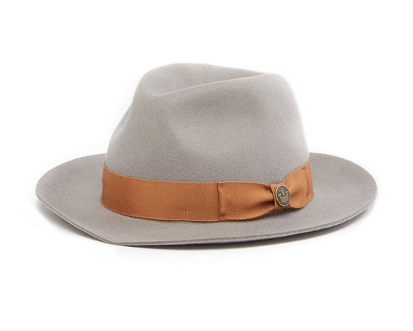 Goorin 'Norris' Wool Felt Fedora in Grey