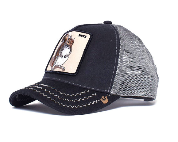 Goorin 'Squirrel Master' Trucker Style Baseball Cap in Navy