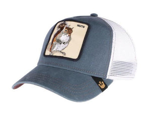 Goorin 'Nutty' Trucker Style Baseball Cap in Blue