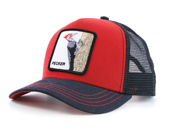 Goorin 'Woody Wood' Trucker Style Baseball Cap in Red