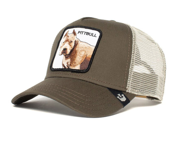 Goorin 'Pittbull' Trucker Style Baseball Cap in Grey