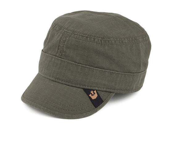 Goorin 'Private Cadet' Army style Cap in Khaki
