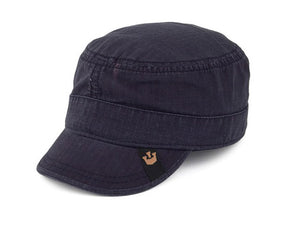 Goorin 'Private Cadet' Army style Cap in Navy