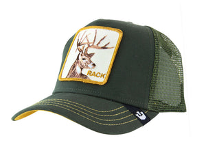 Goorin 'Rack' Trucker Style Baseball Cap in Olive