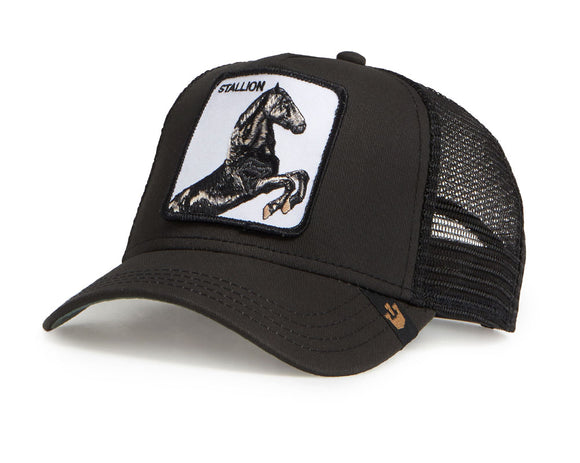 Goorin 'Stallion' Trucker Style Baseball Cap in Black