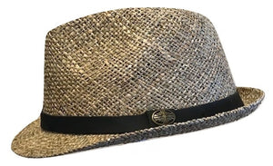 Twisted Seagrass Trilby style Summer hat