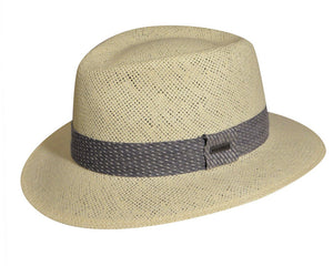 Kangol 'Hiro' Summer Trilby in Natural