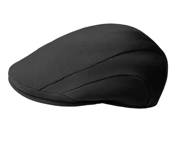 Kangol 507 Tropic Flat Cap in Black