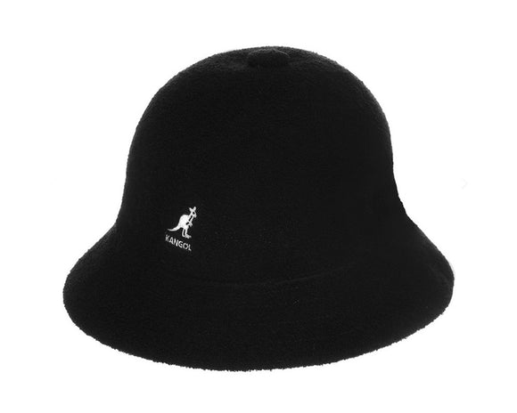 Kangol Winter 'Bermuda' Bucket Hat in Black