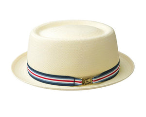 Kangol 'Kross' Paper Straw Pork Pie