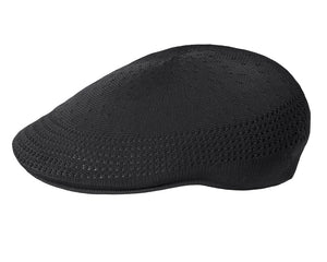 Kangol 507 Ventair Flat Cap in Black