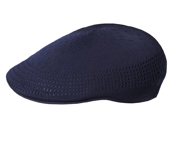 Kangol 507 Ventair Flat Cap in Navy