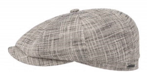 Stetson Greely 8 panel Baker boy cap