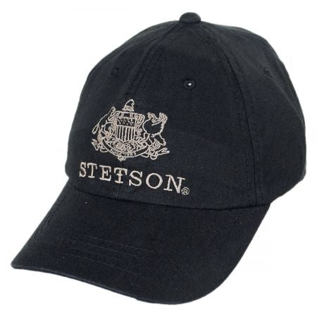 Stetson Linen/Cotton adjustable baseball cap